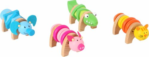 Wooden Screw Animals