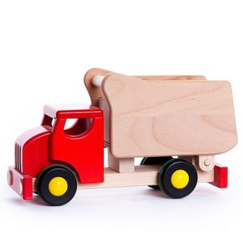 Tipper Truck with shape sorter  - Red