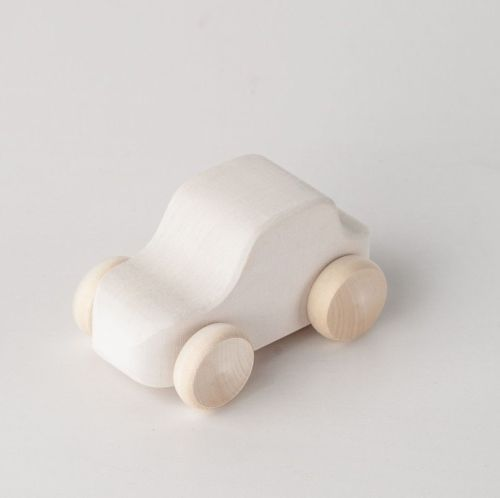 Toy Car - White