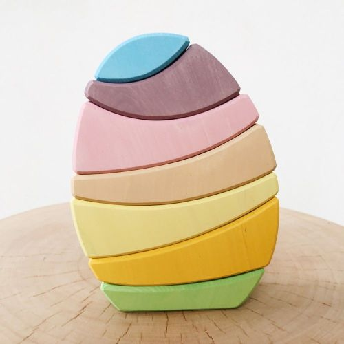 Egg Stacker - Pastel