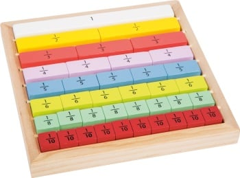 Fractions Learning Board - PRE-ORDER