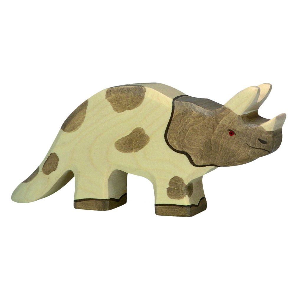 Triceratops - Dinosaur - Holztiger