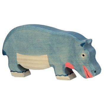 Hippopotamus Feeding - Holztiger