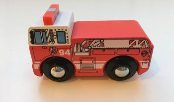 Wooden Vehicle  - Fire Engine