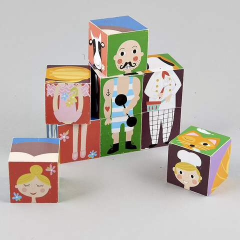 Blocks in a Box - Characters