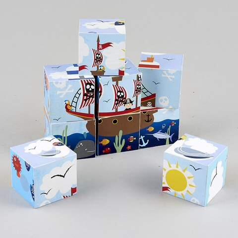 Blocks in a Box - Pirates