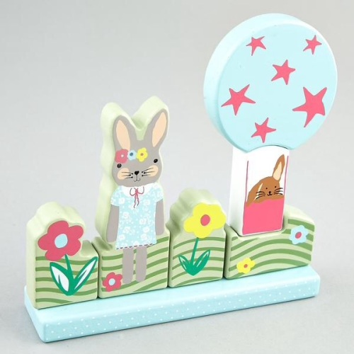Magnetic Puzzle - Bunny