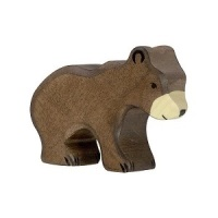 Brown Bear Small - Holztiger