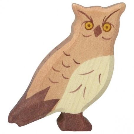 Eagle Owl - Holztiger