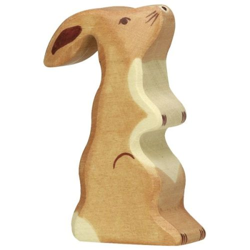 Hare, standing - Holztiger