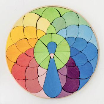 Mosaic Peacock