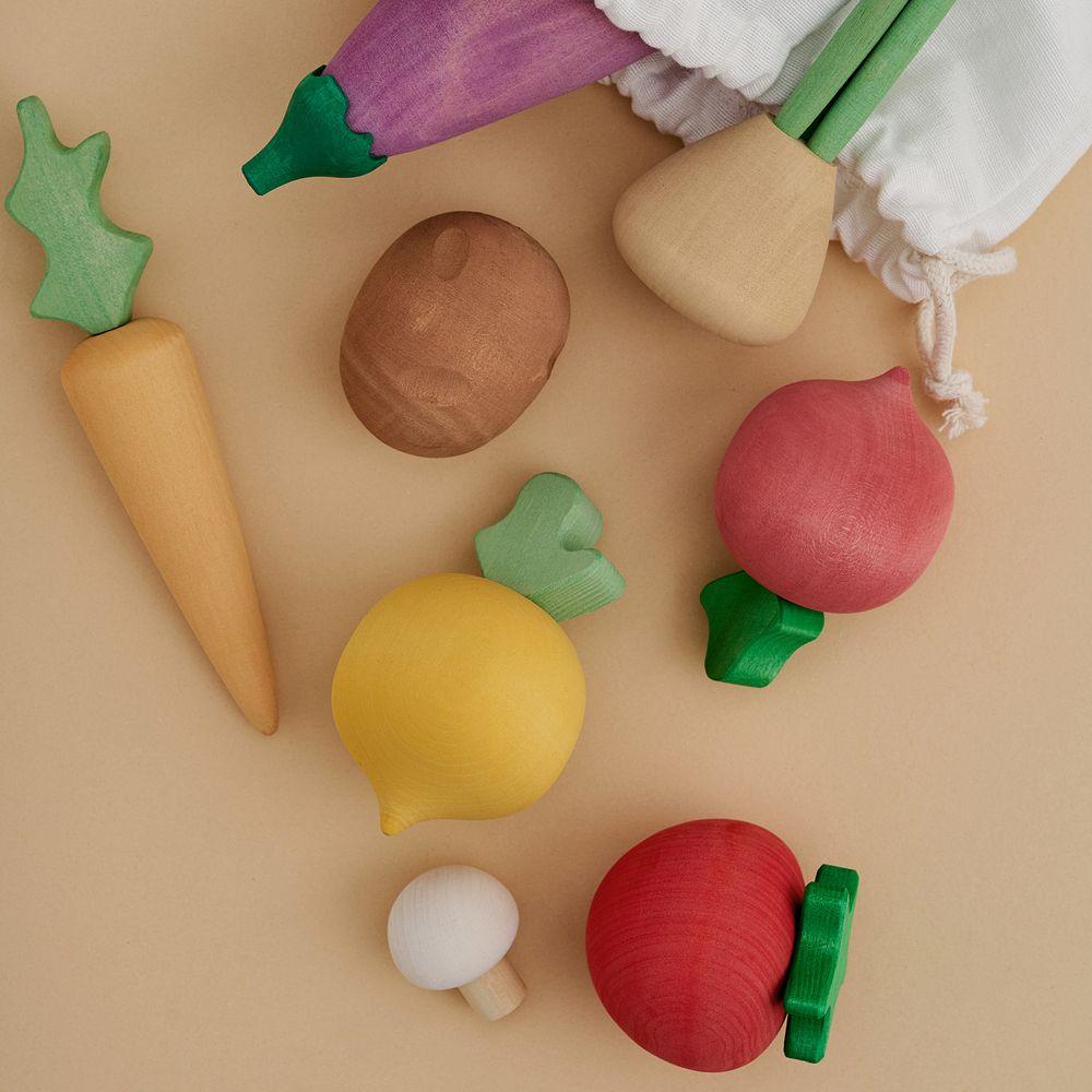 Wooden Vegetable Set - 15% OFF CHRISTMAS CLUB ONLY