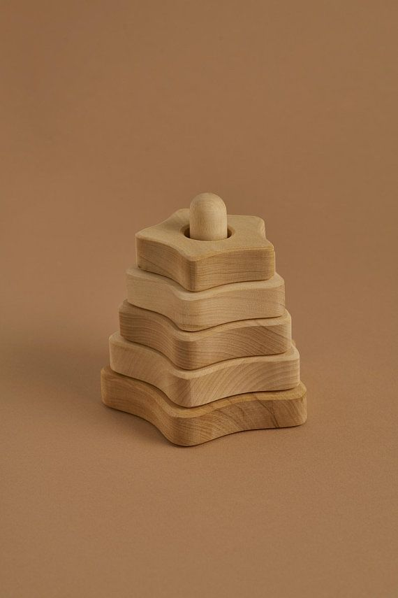 Natural Star Stacking Tower - 15% OFF - CHRISTMAS CLUB ONLY