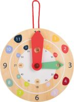 Wooden Clock - Learn to tell the time