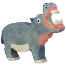 Hippopotamus - Holztiger