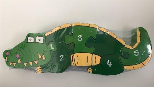 Number Jigsaw - Mini Crocodile
