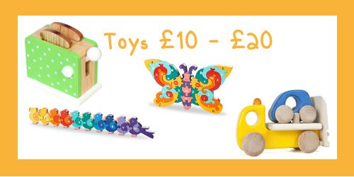 Wooden Toys £10 - £20