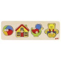Peg Puzzle Row Toys