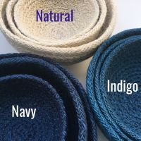 Set of 3 Jute bowls