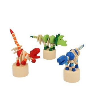 Dinosaur Push Puppet