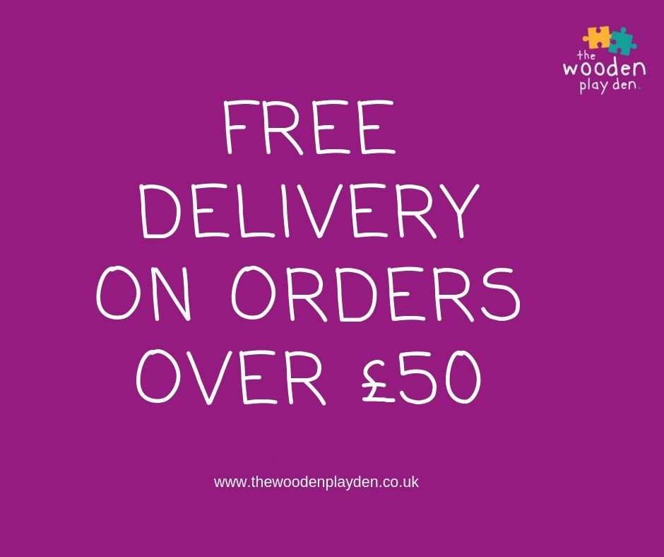 FREE Delivery on order over £50 (2)