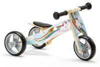 Mini 2 in 1 Wooden Balance Bike Trike - Unicorn