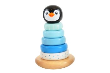 Penguin Stacker - Blue