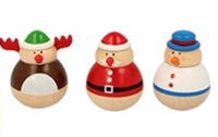 Christmas Roly Poly Characters