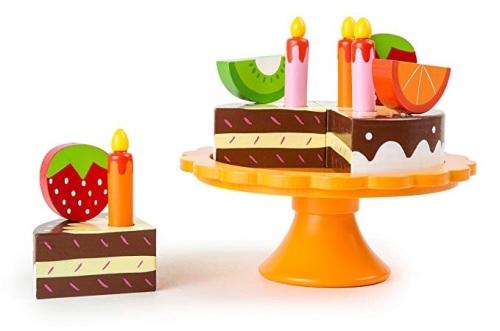 Wooden Birthday Cake