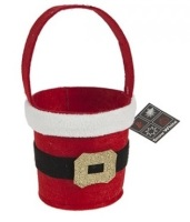 Santa Treat Bucket