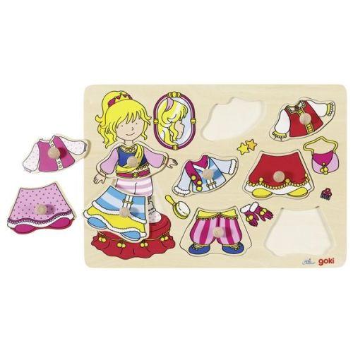 Peg Puzzle - Dress Up