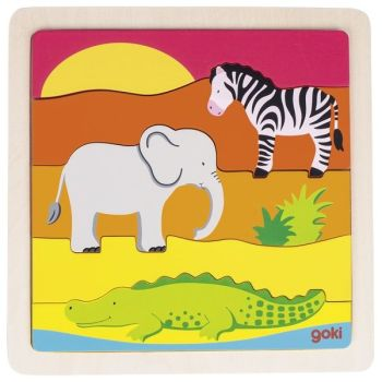 In Africa - Jigsaw Puzzle