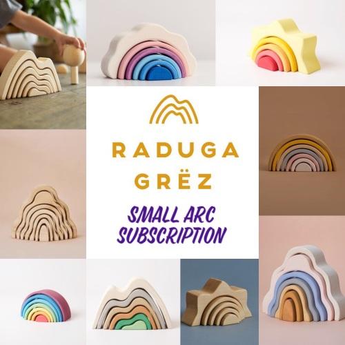Rainbow Dreams - Small Arc Subscription