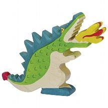 Dragon, Green - Holztiger