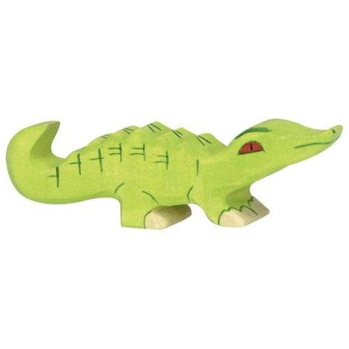 Crocodile, small - Holztiger