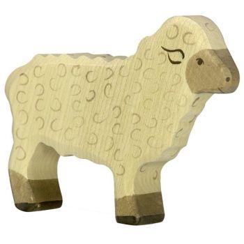 Sheep, standing- Holztiger