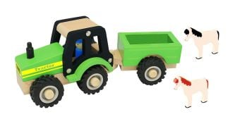 Tractor and Trailer with Animals