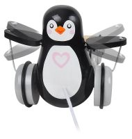 Pull along Penguin with eggs