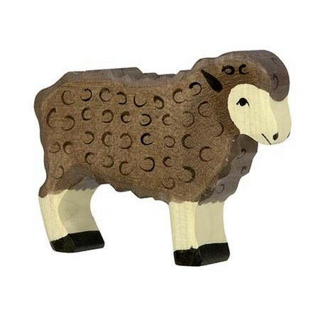 Sheep, black - Holztiger
