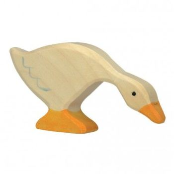 Goose, feeding - Holztiger