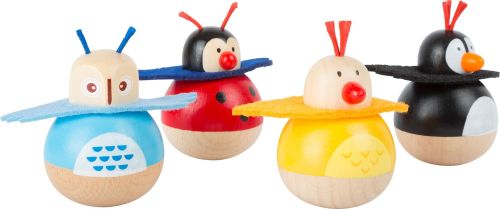 Wobble Animals - Chick, Ladybird, Owl or Penguin