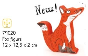 Gruffalo Character - Fox