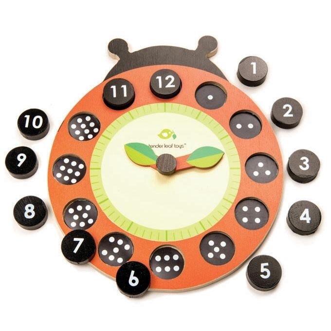 Ladybug Teaching Clock