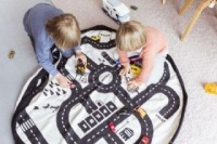 Play & Go, play mat & toy storage - Road Map