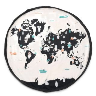 World Map - Play & Go, play mat & toy storage