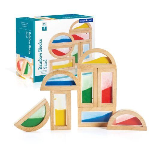 Rainbow Sand Blocks