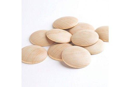 Beechwood Wooden Disc - set of 10