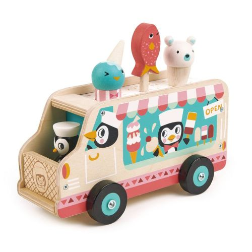 Penguin's Gelato Van