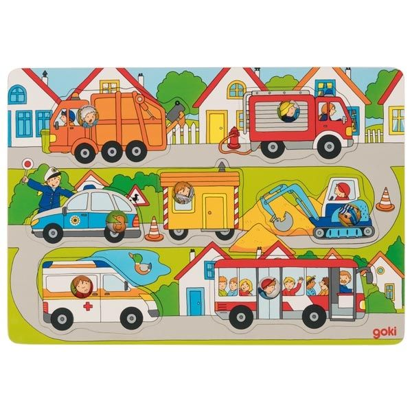 In the streets - Peg Puzzle