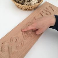 Wooden Tracing Board - Number PRE ORDER